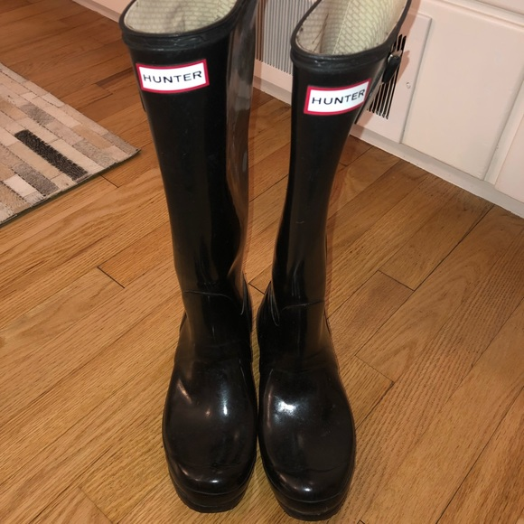 great prices official official images Hunter Rain boots WITH SOCKS hunter Sock inserts